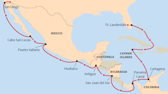 Travel Through the Panama Canal