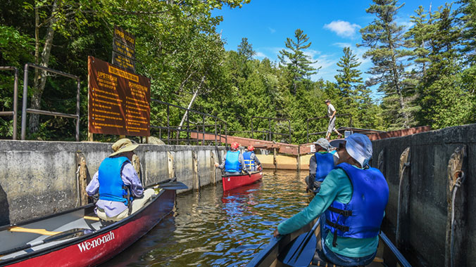 Hike, Bike, Paddle in the Adirondacks