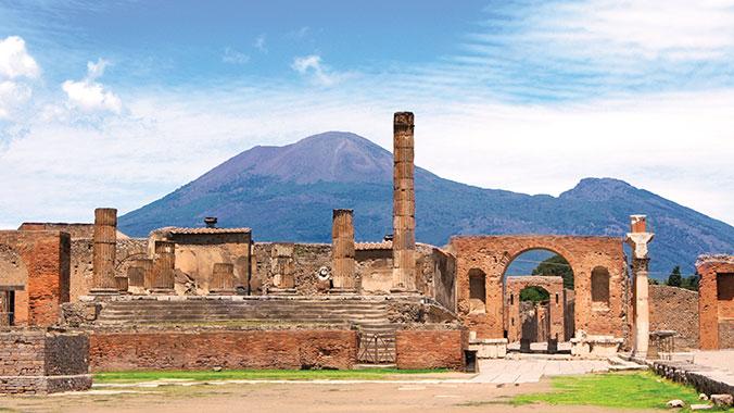 Italy - Mt. Etna, Vesuvius, Pompeii