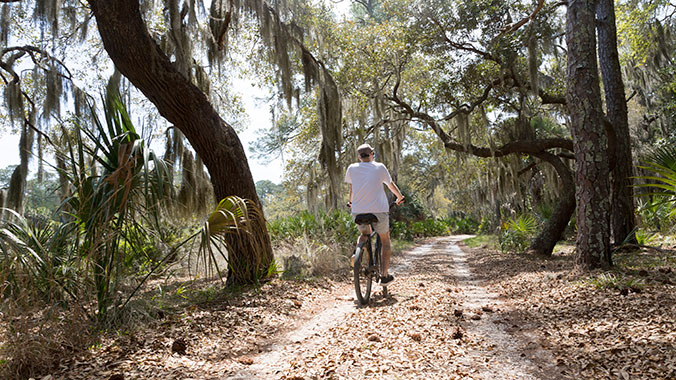 Biking On St Simons And Jekyll Islands Road Scholar