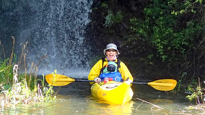 Kayaking the Lower Columbia River: Exploration and Discovery