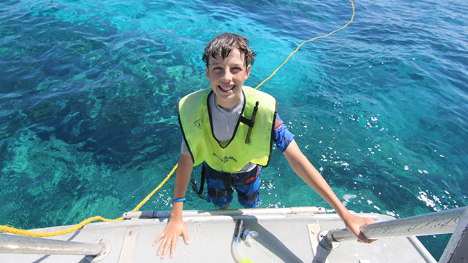 Intergenerational: Snorkeling the Coral Reef in Key Largo