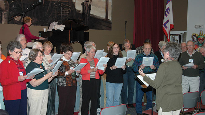 Choral Voices:  Learn and Perform Great Choral Music  in the Appalachians