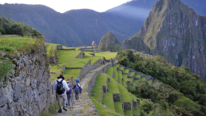 hiking the inca trail to machu picchu road scholar the incas created the largest pre columbian empire in the americas hike and learn about their grand achievements as you explore sacred ruins
