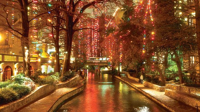 San Antonio River Walk Holiday Lighting | Road Scholar