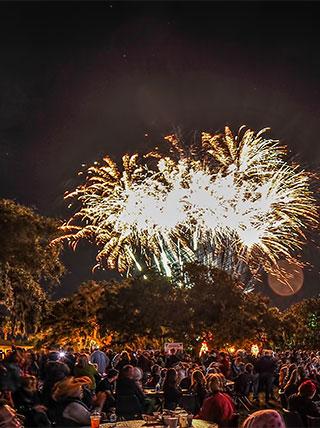 """""""Happy New Year, Y'all!"""" A New Year's Celebration in Savannah, GA"""