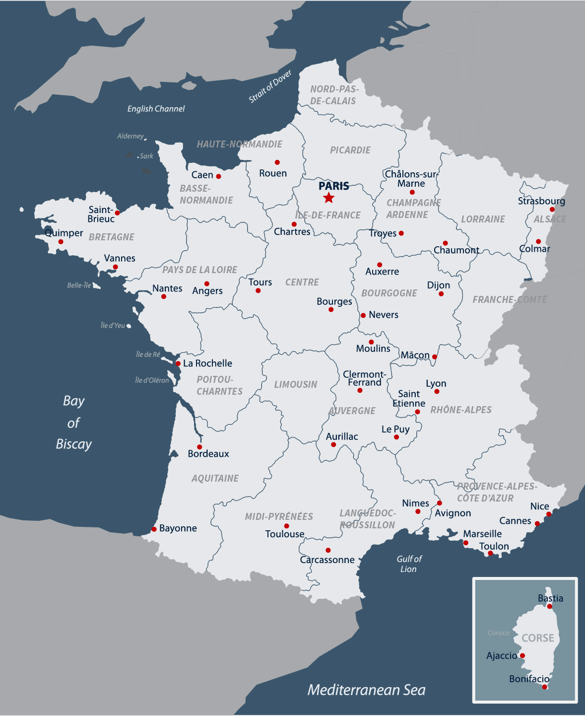 French Geography & Weather | Road Scholar Travel Guide